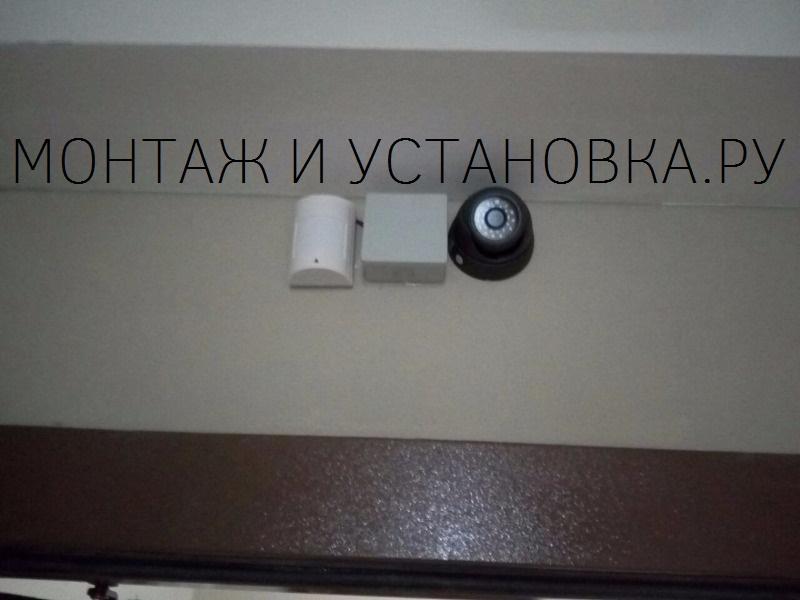 Установка видеокамеры антивандальной