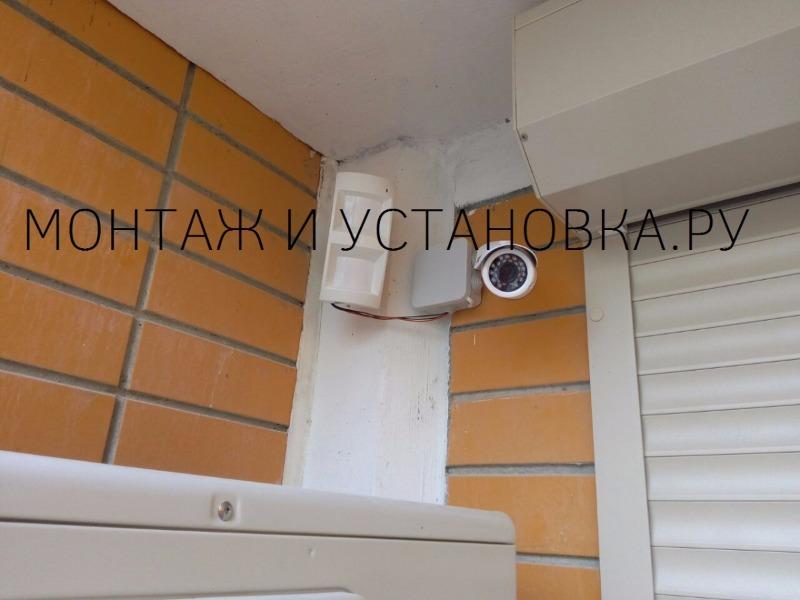 Установка видеокамеры в подъезде